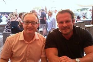 Achim Kilgus, Webmanager GmbH und Christian Karl, CK-Verhandlungsführung