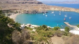 Bucht von Lindos/Rhodos