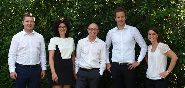 Team der SEA-Agentur bei Karlsruhe