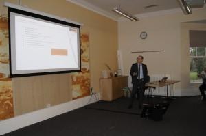 Webmanager-Geschäftsführer Achim Kilgus beim AdWords-Vortrag