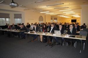 Ca. 100 Zuhörer lauschen den SEA-Ausführungen